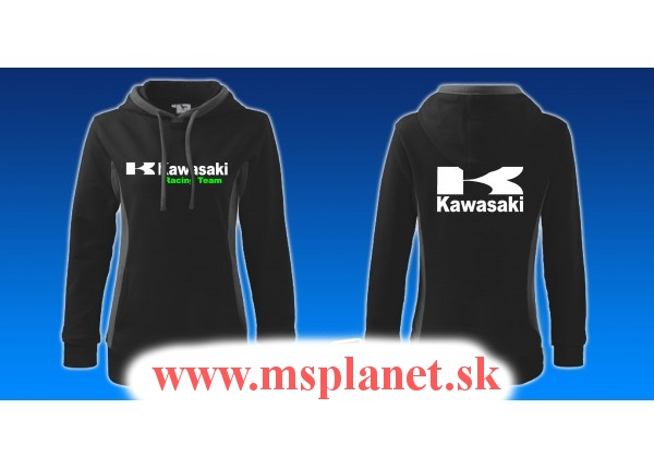 Dámska mikina MSP s motívom Kawasaki