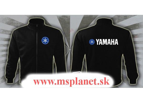 Mikina MSP na zips s motívom Yamaha