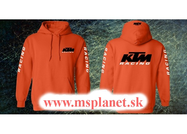 Mikina MSP s motívom KTM Racing 2