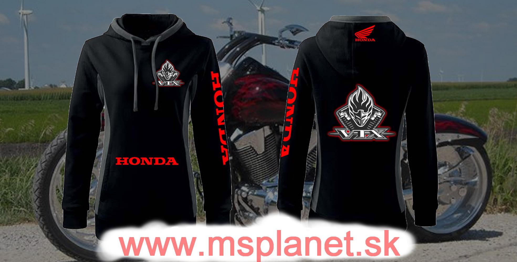 Dámska mikina Honda VTX 871a9baf399