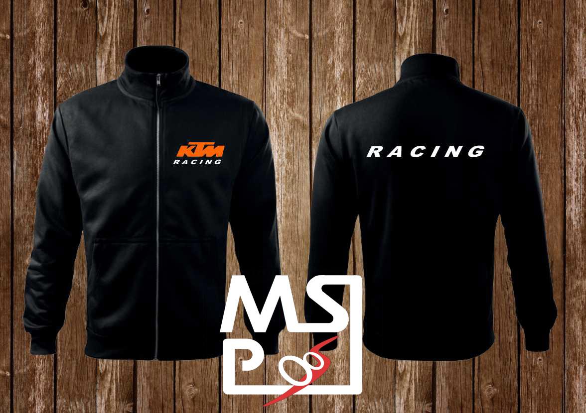 Mikina MSP na zips s motívom KTM Racing