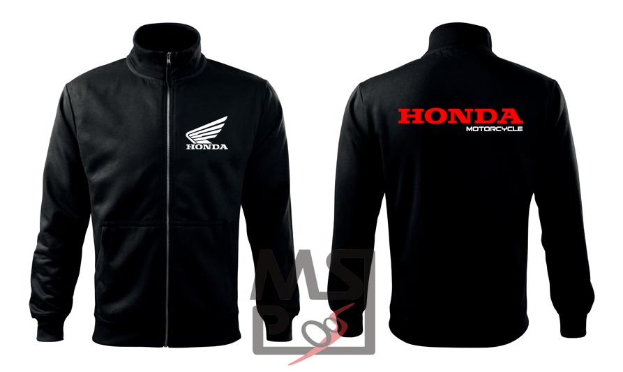 Pánska mikina MSP Honda Motorcycle zipsová