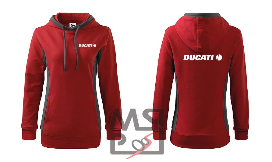 Dámska mikina MSP s motívom Ducati
