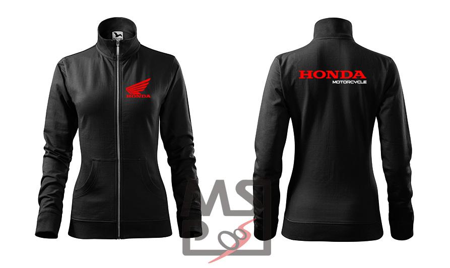 Dámska mikina MSP Honda zipsová 10