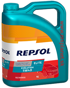 Repsol Elite Evolution 5W40 4L