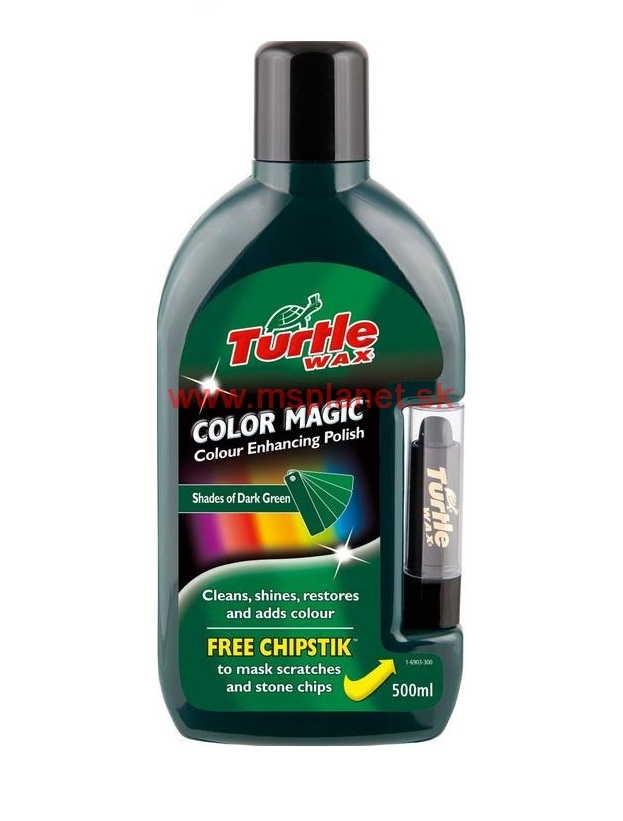 Color Magic Plus – tmovozelený