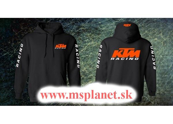 Mikina s motívom KTM Racing  553bcd30f87