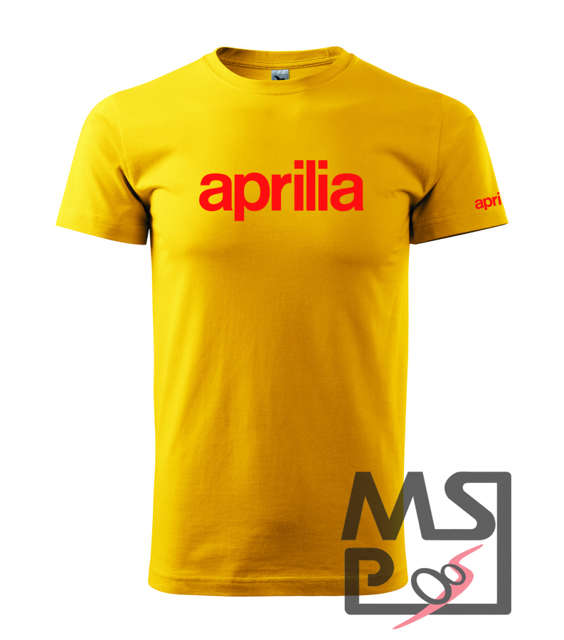 Pánske tričko MSP moto motív Aprilia 2